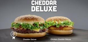 McDonalds Cheddar Deluxe